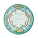 Daughter, You Were Born to Shine Trinket Dish