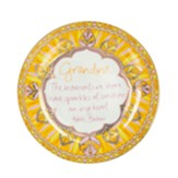 Grandma, the Moments We Share Leave Sparkles of Sunshine Trinket Dish