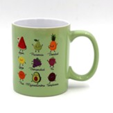 Fruto del Espiritu, Taza, Coleccion Comparte (Fruit of the Spirit, Mug)