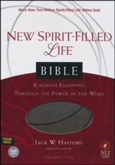 NLT New Spirit Filled Life Bible, Imitation Leather, Rich Stone Indexed