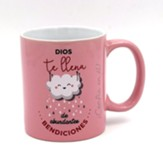 Abudantes bendiciones, Taza, Coleccion Comparte (The Blessing of the Lord, Mug)