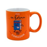 Pon en forma tu corazon, Taza, Coleccion Comparte (Guard Your Heart, Mug)