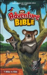 NASB 1995 Adventure Bible, Comfort Print, hardcover