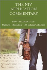 The NIV Application Commentary, New Testament Set Matthew-Revelation, 20 Volume Collection