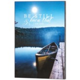 Be Still and Know, Psalm 46:10, Boat Scene, Wall Plaque
