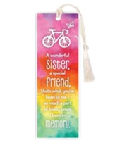 A Wonderful Sister, A Special Friend Bookmark