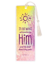 In All Ways, Acknowledge Him Bookmark