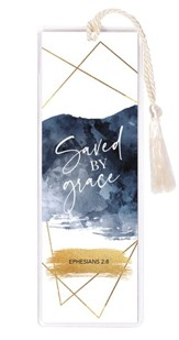 Saved By Grace, Ephesians 2:8 Bookmark