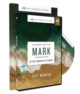 40 Days Through the Book: Mark Study Guide with DVD