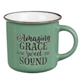 Amazing Grace Camp Mug, Mint Green
