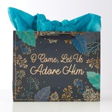 O Come, Let Us Adore Him, Landscape, Gift Bag, Large