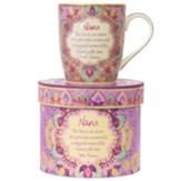 Nana, the Times We Share Are Precious Moments Boxed Mug