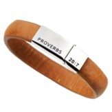 Righteous Man Leather Bracelet