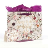 Choose to Be Grateful, Gift Bag with Card