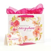 Spread Love Everywhere, Gift Bag with Card