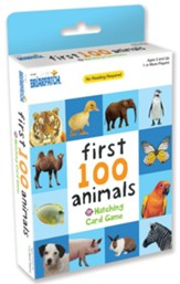 First 100 Animals Card Game