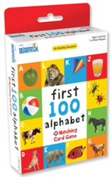 First 100 Alphabet Card Game