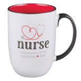 Nurse, God Found the Strongest People, Ceramic Mug