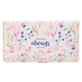 I Am With You Always Checkbook Cover