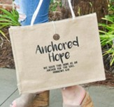 Anchored Hope, Tote Bag