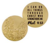 Strength Pocket Token, Phil 4:13