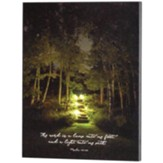Thy Word is a Lamp, Psalm 119:105, Lighted Steps Wall Plaque