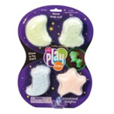 Playfoam Glow in the Dark, 4-Pack