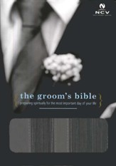The NCV Groom's Bible--imitation leather, black