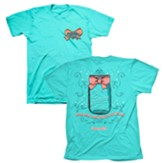 Cherished Girl A-Mason Grace Shirt, Aqua,  Medium