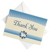 Thank You, Baptism, Note Cards, Pack of 10