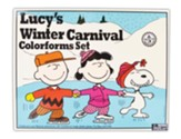 Retro Lucy's Winter Carnival Colorforms Set