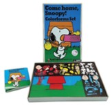 Retro Come Home Snoopy Colorforms Set