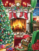 Cozy Christmas Jigsaw Puzzle, 550 Pieces