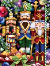 The Three Nutcrackers Jigsaw Puzzle, 550 Pieces