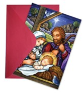 Silent Night Greeting Card Advent Calendar