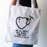 Not All Angels Have Wings, Tote Bag