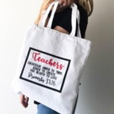 Teachers Encourage Minds To Think, Tote Bag