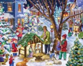 Neighborhood Nativity Jigsaw Puzzle, 1000 Pieces