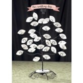 Blessings Tree With 60 Blank Leaves
