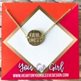 Girl Boss Circle Necklace