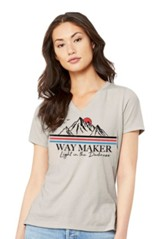 Way Maker T-Shirt, Women's Cut, Tan, Medium