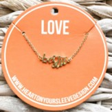 Besties, Script Necklace