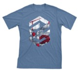 Concrete & Cranes: Teen Construction T-Shirt, Adult Large