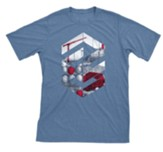 Concrete & Cranes: Teen Construction T-Shirt, Adult Medium