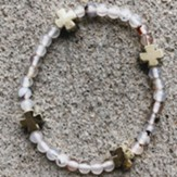 Willow Beaded Bracelet with Crosses