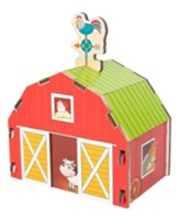 Build It Blueprint Puzzles, Barn