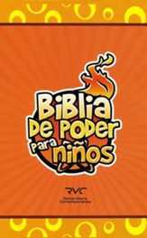 Biblia de Poder para Niños RVC, Piel Especial  (RVC Fire Bible for Kids, Leathersoft)