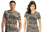 Stand Strong Shirt, Sand Camo, Small, Unisex