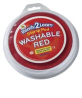 Rocky Railway: Red Large Washable Ink Stamp Pad