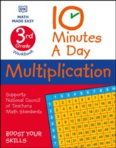 10 Minutes A Day Multiplication Grade 3